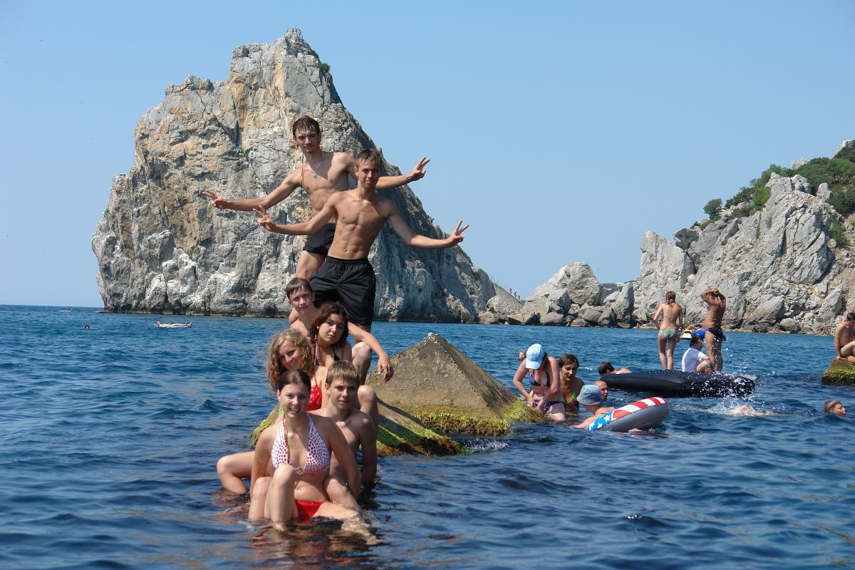 Отдых в Крыму. Кольцо следопыта