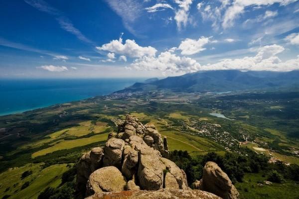 Отдых в Крыму. Сказки крымского леса