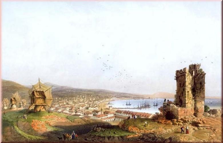 Отдых в Крыму. Кафа (Кучук-Стамбул) средневековая Феодосия