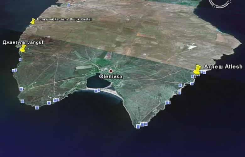 Отдых в Крыму. Аллея вождей на дне Черного моря