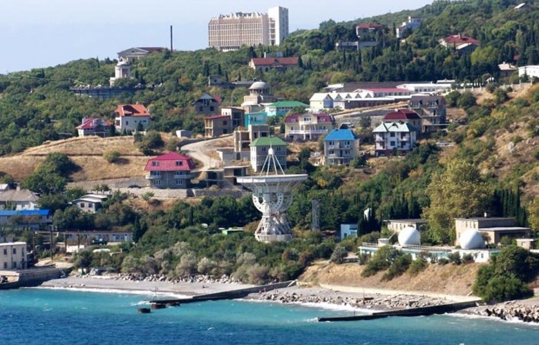 Отдых в Крыму. Голубой залив заповедное урочище