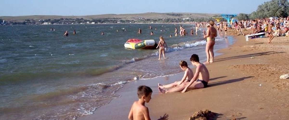 Пляжи Керченского полуострова, огромные и карманные: без низовки, с арбузным запахом моря и ночным свечением