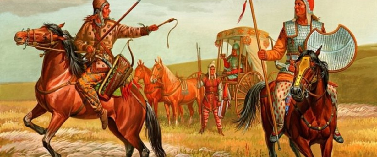 Амазонки (женщины воины) от Крыма до Алтая
